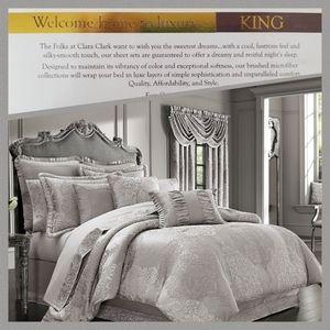clara clark premier 1800 collection sheet set KING
